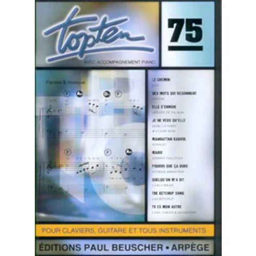 PAUL BEUSCHER PUBLICATIONS TOP TEN N°75 - PVG
