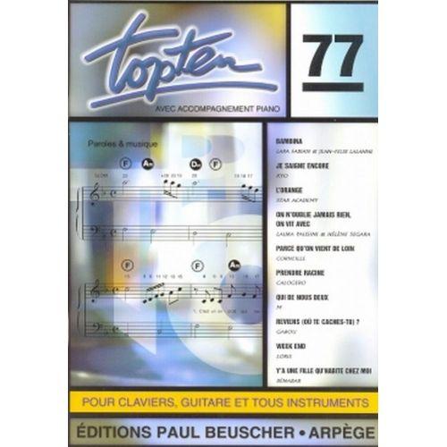 PAUL BEUSCHER PUBLICATIONS TOP TEN N°77 - PVG