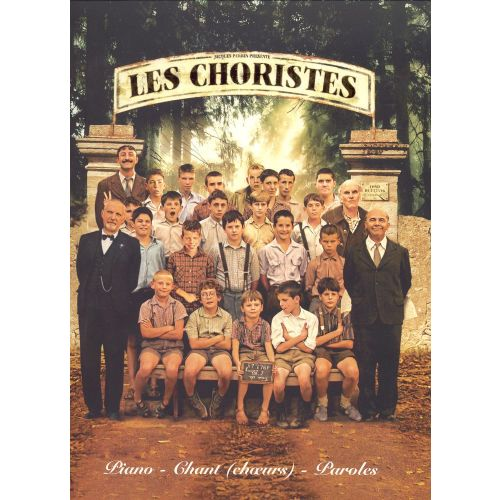 PAUL BEUSCHER PUBLICATIONS COULAIS BRUNO - LES CHORISTES - BANDE ORIGINALE DU FILM - CHOEUR, PIANO