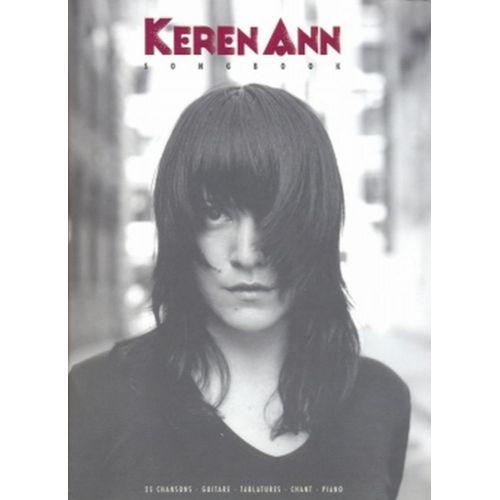 PAUL BEUSCHER PUBLICATIONS KEREN ANN - CHANSONS (25) - PVG TAB