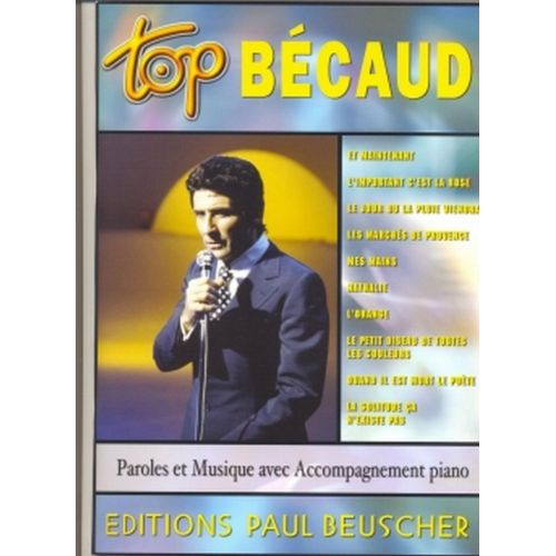 PAUL BEUSCHER PUBLICATIONS BECAUD GILBERT - TOP BECAUD - PVG