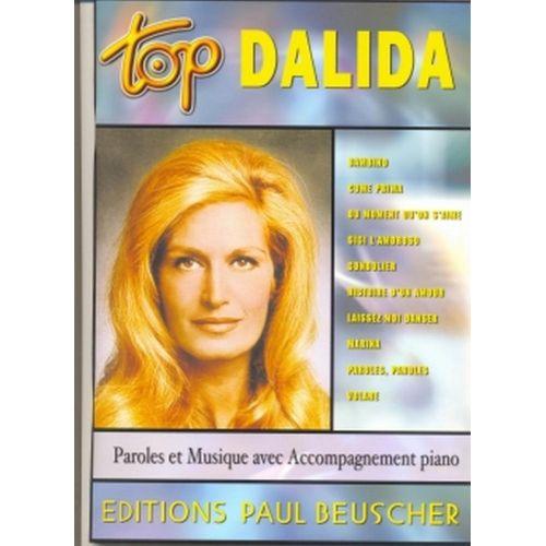 PAUL BEUSCHER PUBLICATIONS DALIDA - TOP DALIDA - PVG