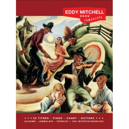 BOOKMAKERS INTERNATIONAL MITCHELL EDDY - JAMBALAYA - FRENCHY - 8 TITRES - PVG