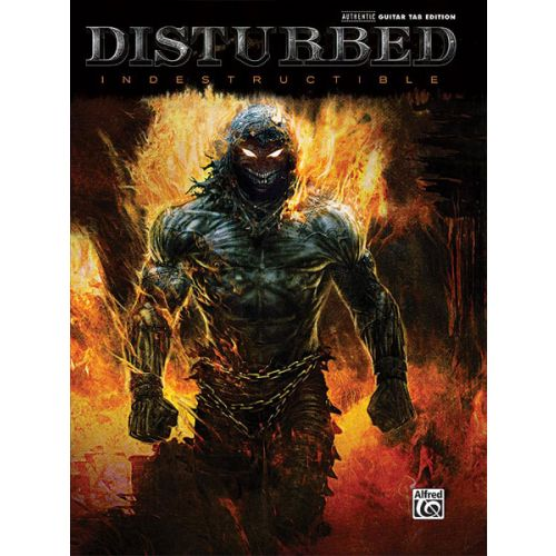 ALFRED PUBLISHING DISTURBED - INDESTRUCTIBLE - GUITAR TAB