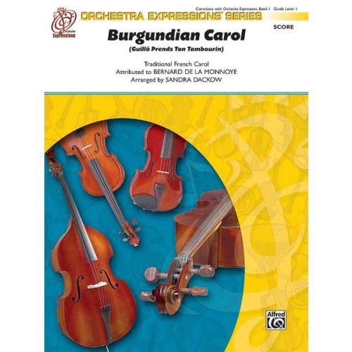 ALFRED PUBLISHING BURGUNDIAN CAROL - STRING ORCHESTRA