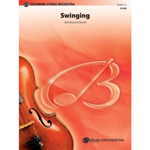 ALFRED PUBLISHING BULLOCK JACK - SWINGING - STRING ORCHESTRA