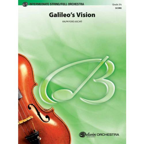 ALFRED PUBLISHING FORD RALPH - GALILEOS VISION - FULL ORCHESTRA