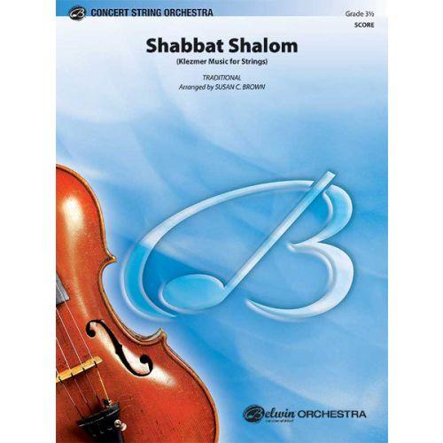 ALFRED PUBLISHING BROWN SUSAN C. - SHABBAT SHALOM - STRING ORCHESTRA