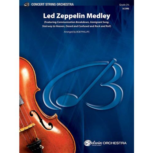 ALFRED PUBLISHING GERSHWIN GEORGE - LED ZEPPELIN MEDLEY - STRING ORCHESTRA
