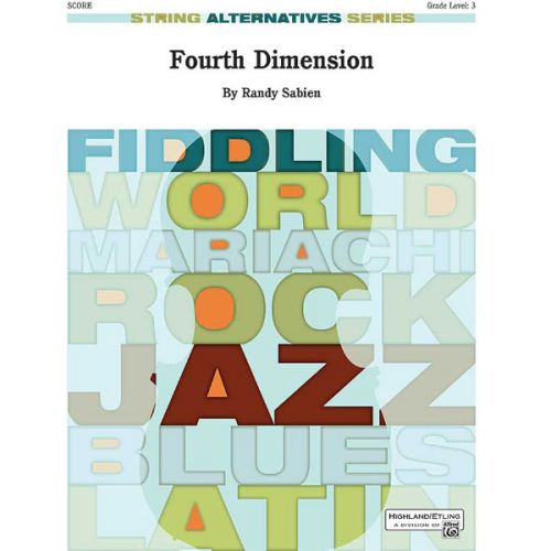 ALFRED PUBLISHING SABIEN RANDY - FOURTH DIMENSION - STRING ORCHESTRA