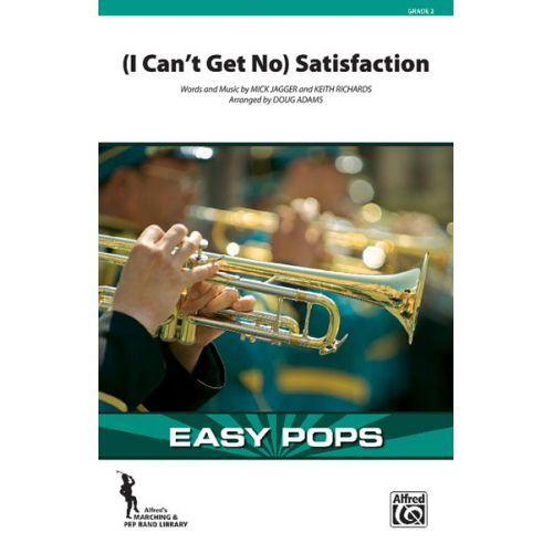 ALFRED PUBLISHING ROLLING STONES THE - SATISFACTION - SCORE AND PARTS