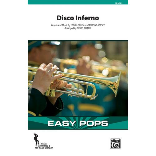 ALFRED PUBLISHING - DISCO INFERNO - SCORE AND PARTS