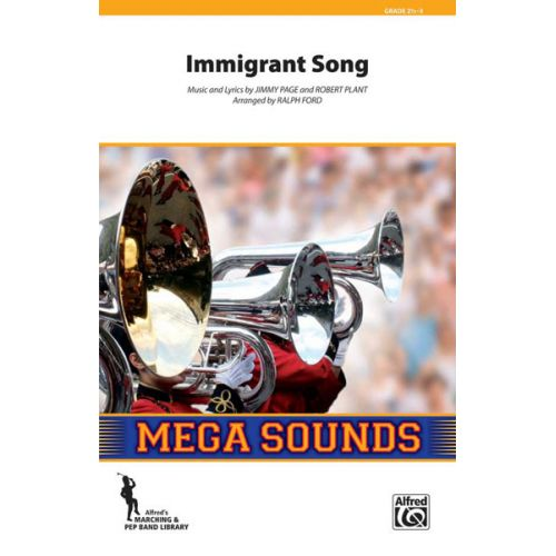 ALFRED PUBLISHING IMMIGRANT SONG - SCORE AND PARTS