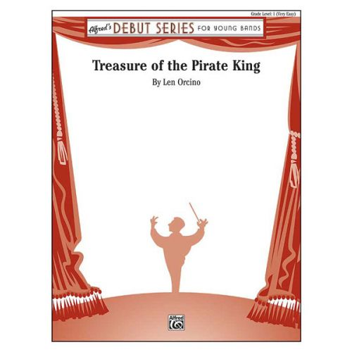 ALFRED PUBLISHING ORCINO L. - TREASURE OF THE PIRATE KING - SYMPHONIC WIND BAND