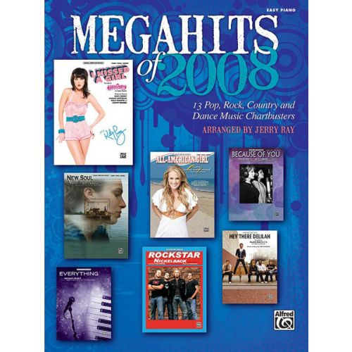 ALFRED PUBLISHING RAY JERRY - MEGAHITS 2008 - PIANO SOLO