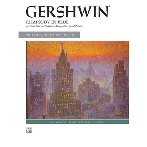 ALFRED PUBLISHING GERSHWIN - RHAPSODY IN BLUE - PIANO DUET