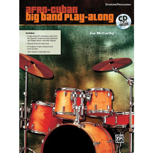 ALFRED PUBLISHING MCCARTHY JOE - AFRO-CUBAN BIG BAND DRUMS - DRUMS & PERCUSSION