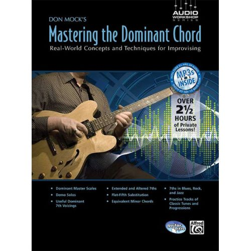 ALFRED PUBLISHING MOCK DON - MASTERING THE DOMINANT CHORD + CD - GUITAR