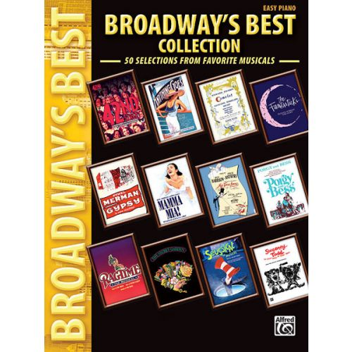 ALFRED PUBLISHING BROADWAYS BEST COLLECTION - PIANO SOLO