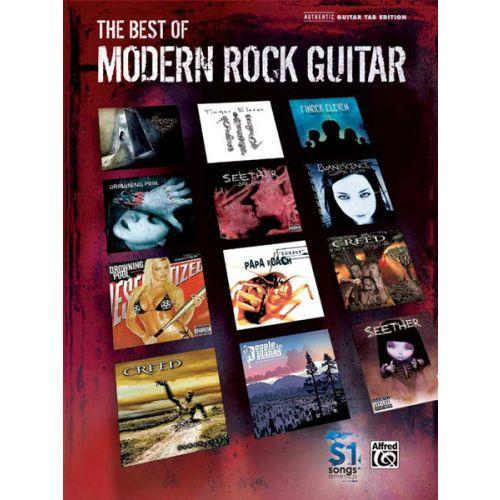 ALFRED PUBLISHING BEST OF MODERN ROCK - GUITAR TAB
