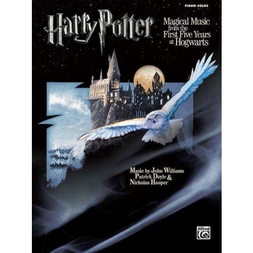 ALFRED PUBLISHING WILLIAMS JOHN - HARRY POTTER MAGICAL MUSIC 1-5 - PIANO SOLO
