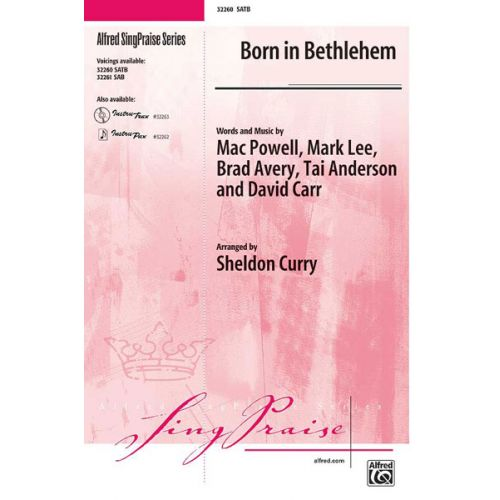 ALFRED PUBLISHING BORN IN BETHLEHEM - MIXED VOICES SATB