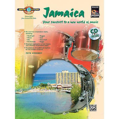 ALFRED PUBLISHING SWEENEY PETE - DRUM ATLAS - JAMAICA + CD - DRUM