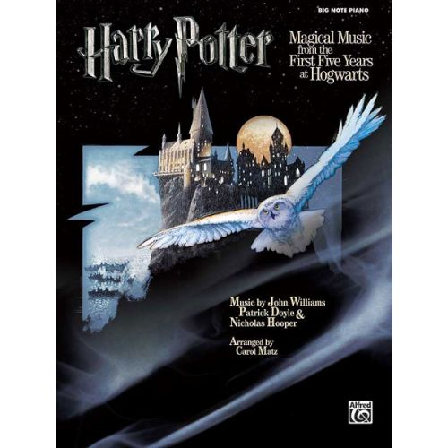 ALFRED PUBLISHING WILLIAMS JOHN - HARRY POTTER MAGICAL MUSIC 1-5 - PIANO SOLO, BIG NOTES