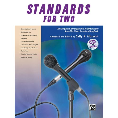 ALFRED PUBLISHING ALBRECHT SALLY - STANDARDS FOR TWO - VOICE AND PIANO