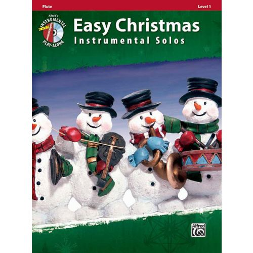 ALFRED PUBLISHING EASY CHRISTMAS INSTRUMENTAL SOLOS + CD - FLUTE SOLO