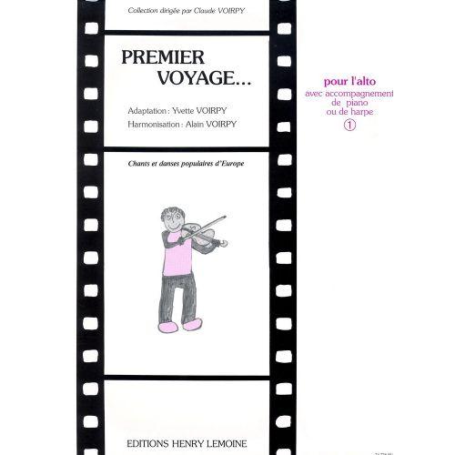 LEMOINE VOIRPY ALAIN - PREMIER VOYAGE VOL.1 - ALTO, PIANO