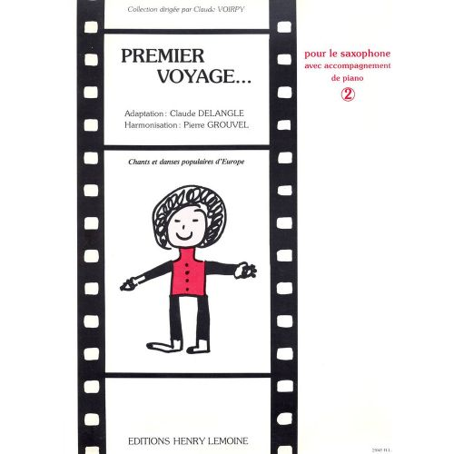 LEMOINE DELANGLE CLAUDE - PREMIER VOYAGE VOL.2 - SAXOPHONE, PIANO
