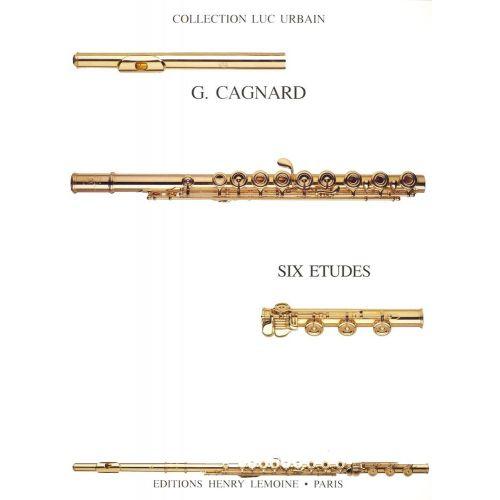 LEMOINE CAGNARD GILLES - ETUDES (6) - FLUTE