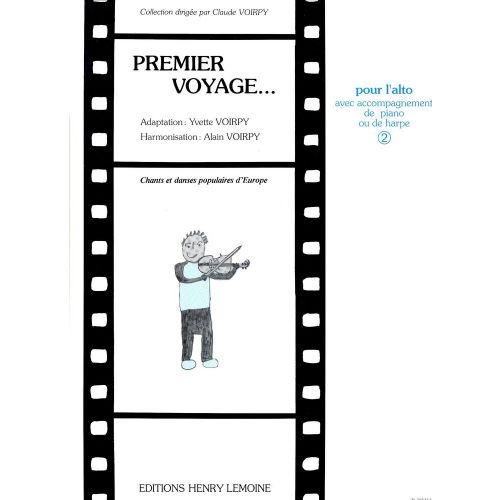 LEMOINE VOIRPY ALAIN - PREMIER VOYAGE VOL.2 - ALTO, PIANO