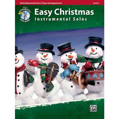 ALFRED PUBLISHING EASY CHRISTMAS INSTUMENTAL SOLO + CD - VIOLIN SOLO