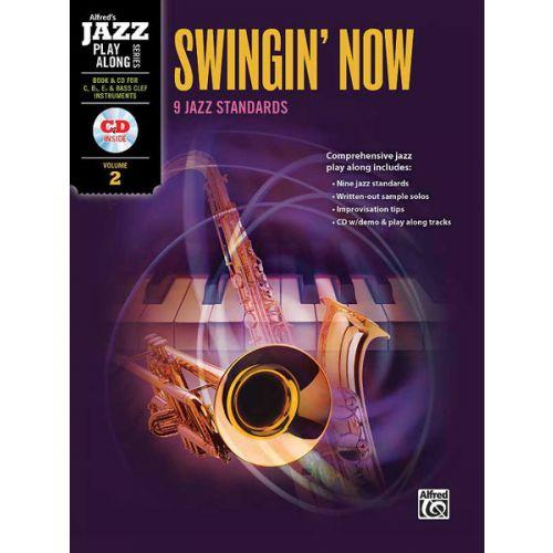 ALFRED PUBLISHING SWINGIN NOW 2 + CD - FLEXIBLE ENSEMBLE
