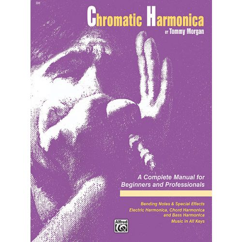ALFRED PUBLISHING MORGAN TOMMY - CHROMATIC HARMONICA - HARMONICA