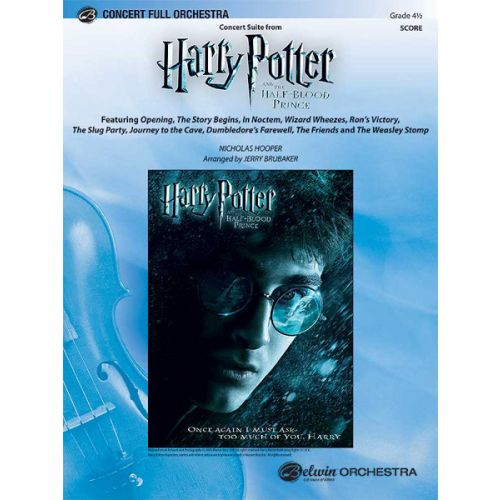 ALFRED PUBLISHING HOOPER NICK - HALF BLOOD PRINCE CONCERT SUITE - FULL ORCHESTRA