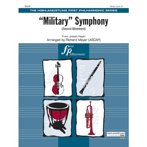 ALFRED PUBLISHING MILITARY SYMPHONY 2ND MOVE - FULL ORCHESTRA