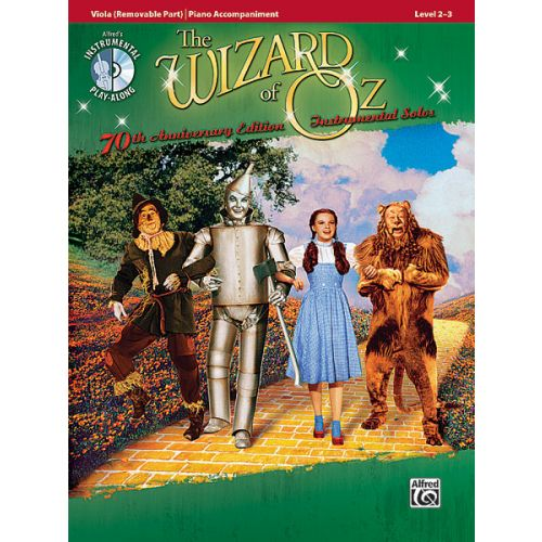 ALFRED PUBLISHING GARLAND JUDY - WIZARD OF OZ + CD - VIOLA AND PIANO