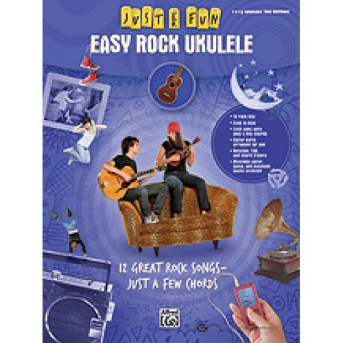 ALFRED PUBLISHING JUST FOR FUN : EASY ROCK UKULELE