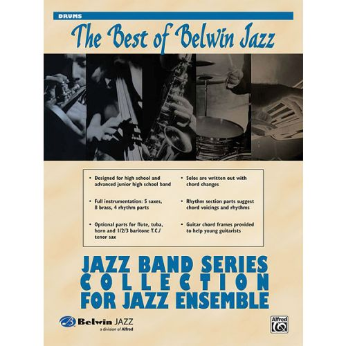 ALFRED PUBLISHING BEST OF BELWIN : JAZZ BAND - DRUM