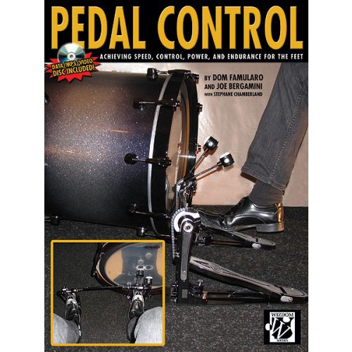 ALFRED PUBLISHING FAMULARO D - PEDAL CONTROL + CD - DRUM
