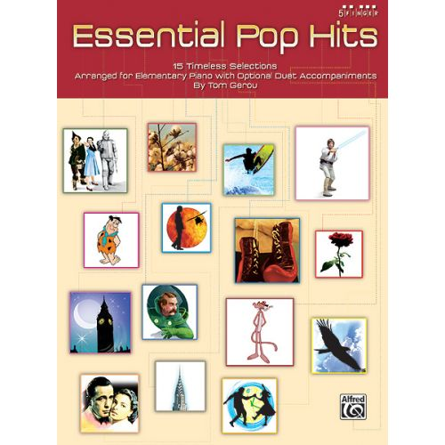 ALFRED PUBLISHING GEROU TOM - ESSENTIAL POP HITS - PIANO SOLO