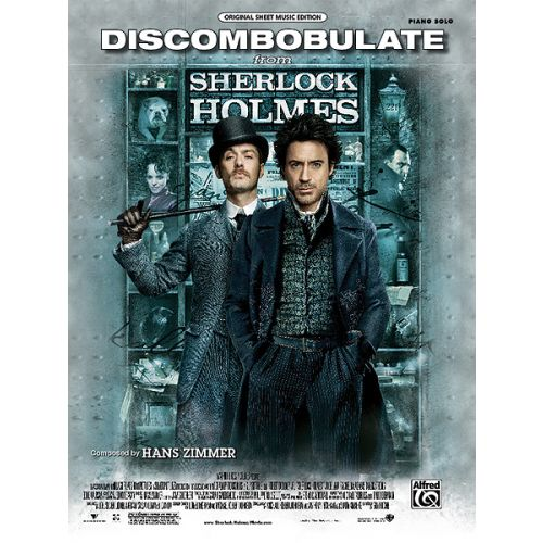 ALFRED PUBLISHING ZIMMER HANS - DISCOMBOBULATE SHERLOCK HOLMES - PIANO SOLO