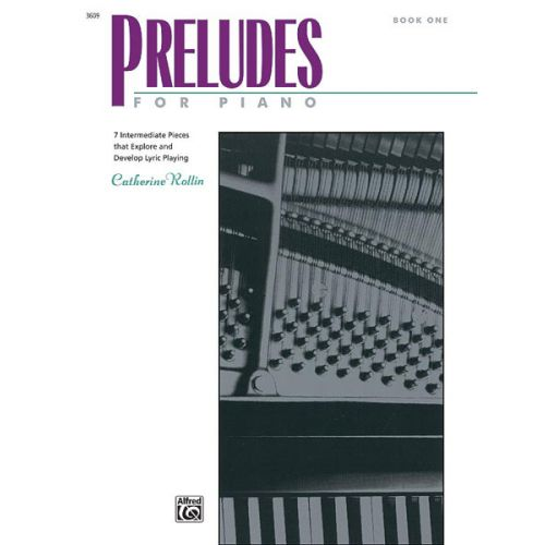 ALFRED PUBLISHING PRELUDES FOR PIANO 1 - PIANO SOLO