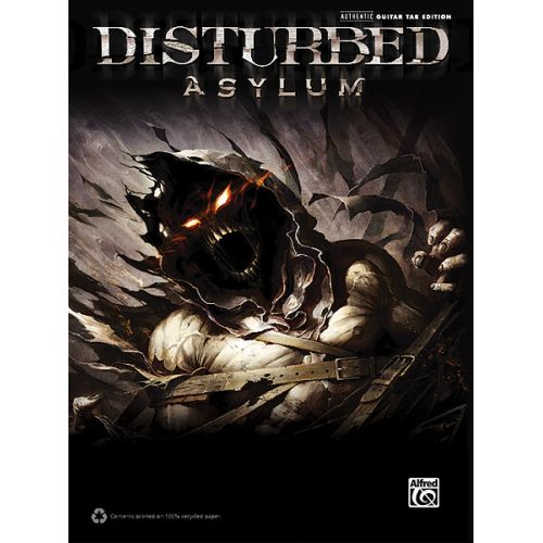 ALFRED PUBLISHING DISTURBED - DISTURBED: ASYLUM - GUITAR TAB