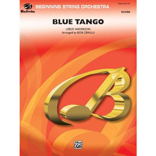 ALFRED PUBLISHING ANDERSON LEROY - BLUE TANGO - STRINGSETS