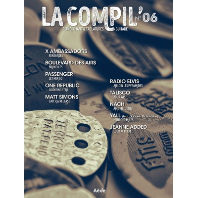 AEDE MUSIC LA COMPIL N° 6 - PVG