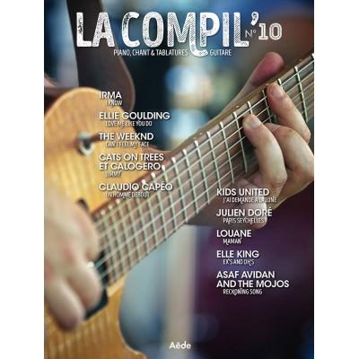 AEDE MUSIC LA COMPIL N° 10 - PVG ET TAB